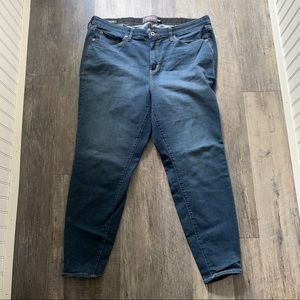 Torrid | Sky High Skinny Jeans 24 Tall